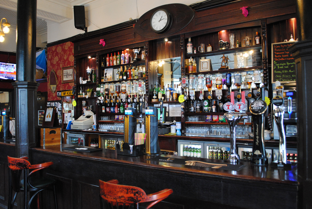 Fully Stocked bar