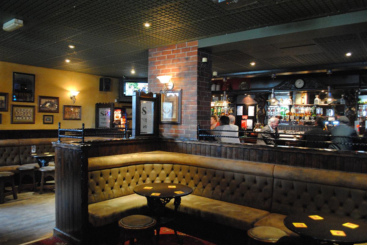 A vibrant, cosy pub