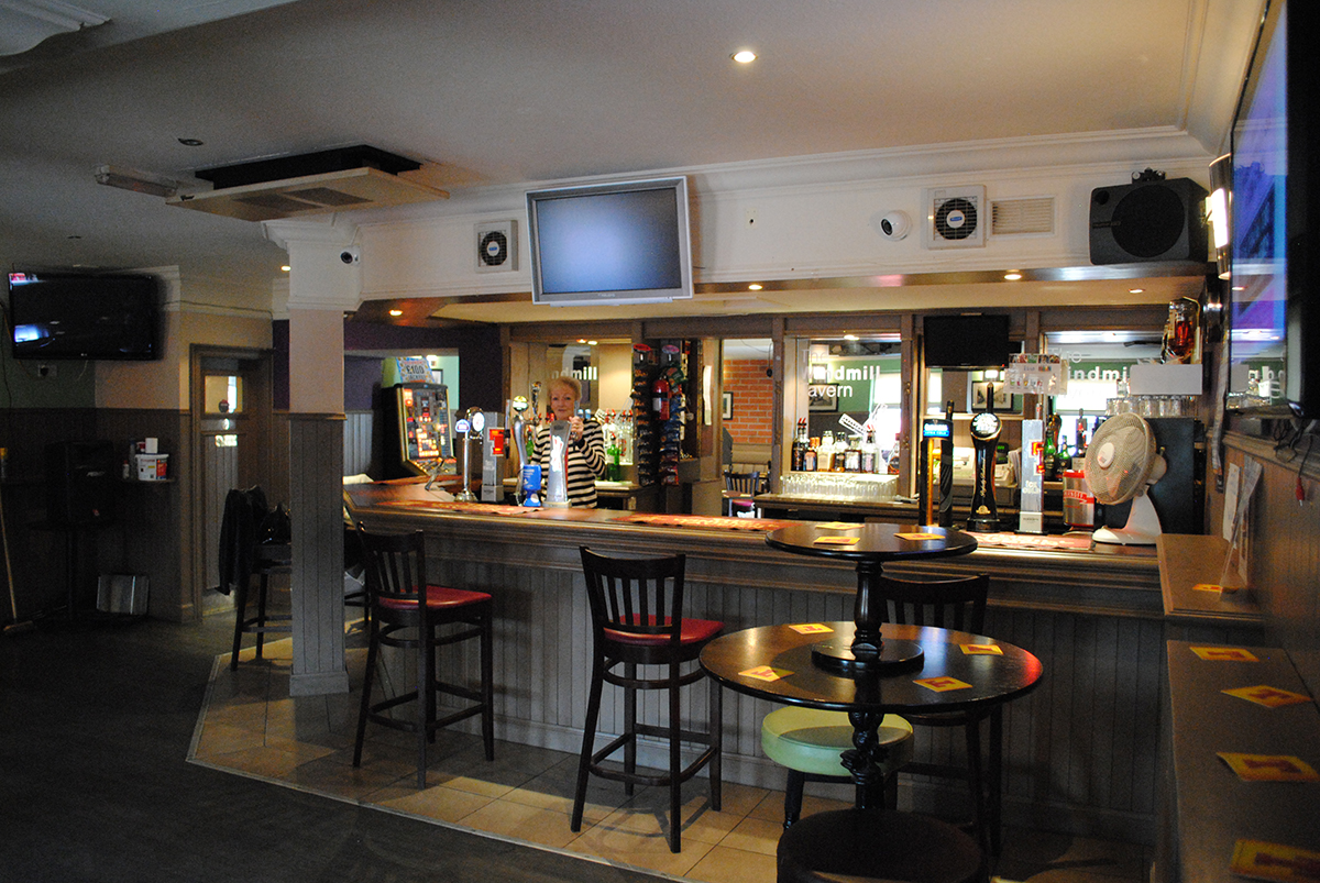Our well stocked bar